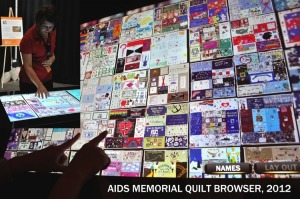 AIDS Memorial Quilt Table Browser